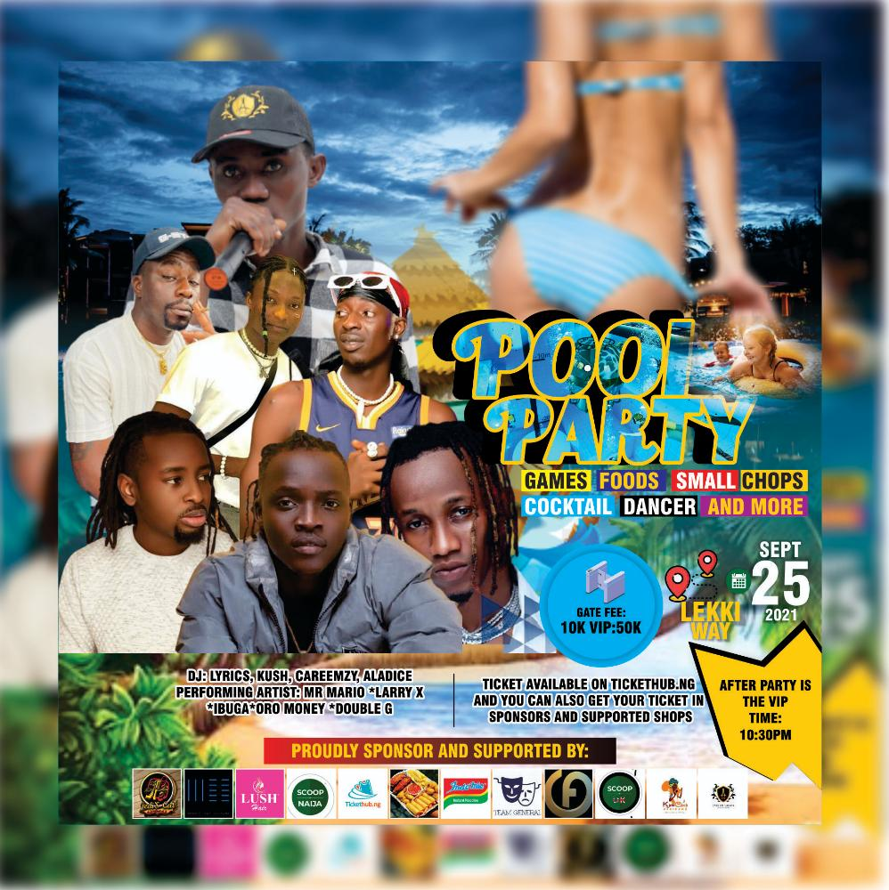 Pool party Post free event in Nigeria using tickethub.ng, buy and sell tickets to event