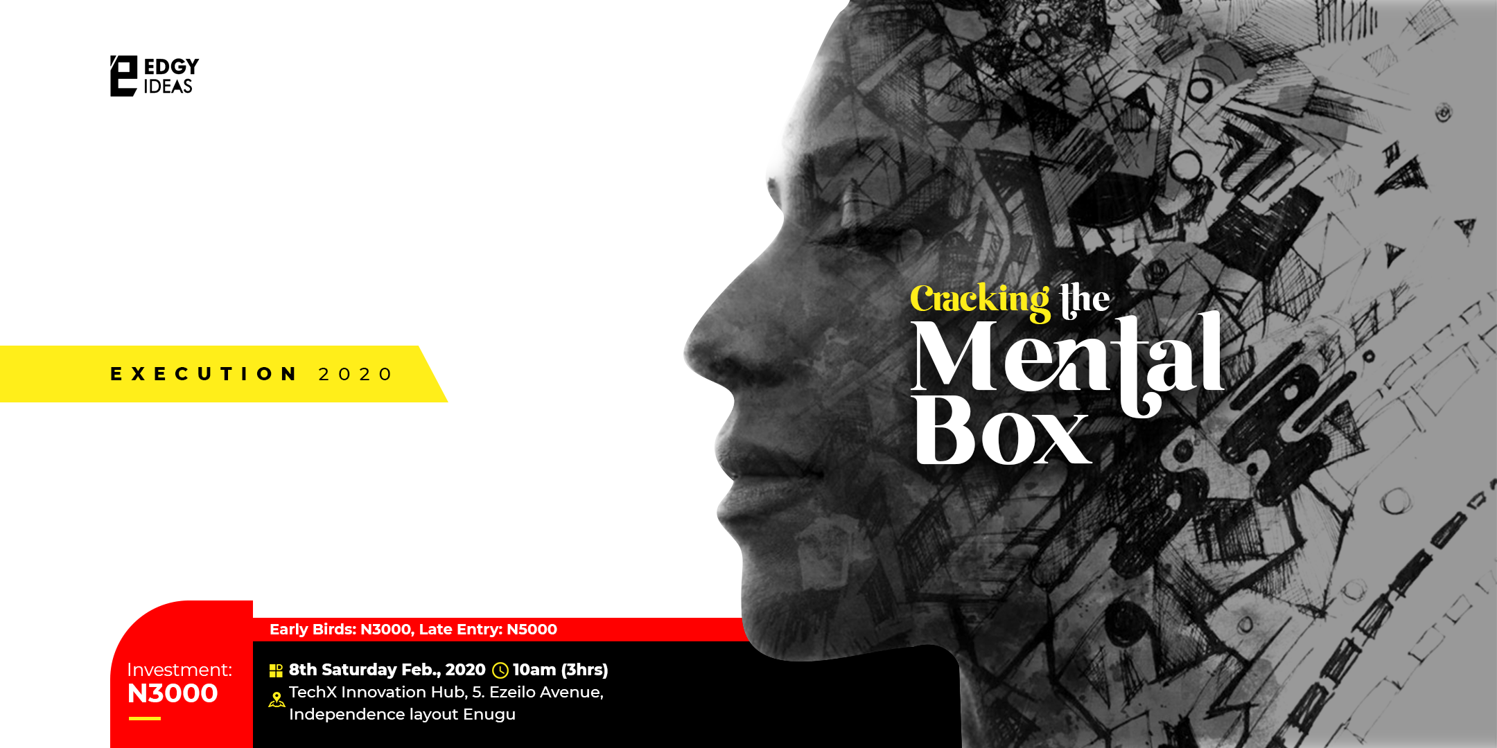 EXECUTION 2020 - CRACKING THE MENTAL BOX Post free event in Nigeria using tickethub.ng, buy and sell tickets to event