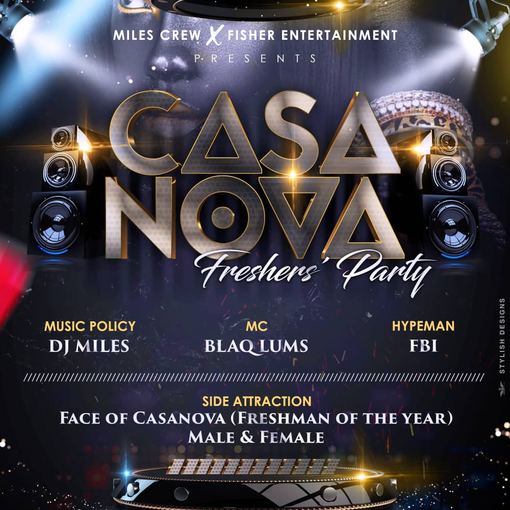 Casanova 2.0 Post free event in Nigeria using tickethub.ng, buy and sell tickets to event
