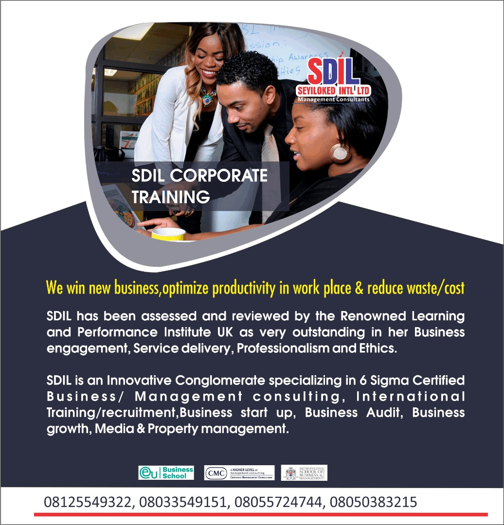 SDIL Upholding Ethics and Communicating efficiently professionally in the workplace Post free event in Nigeria using tickethub.ng, buy and sell tickets to event