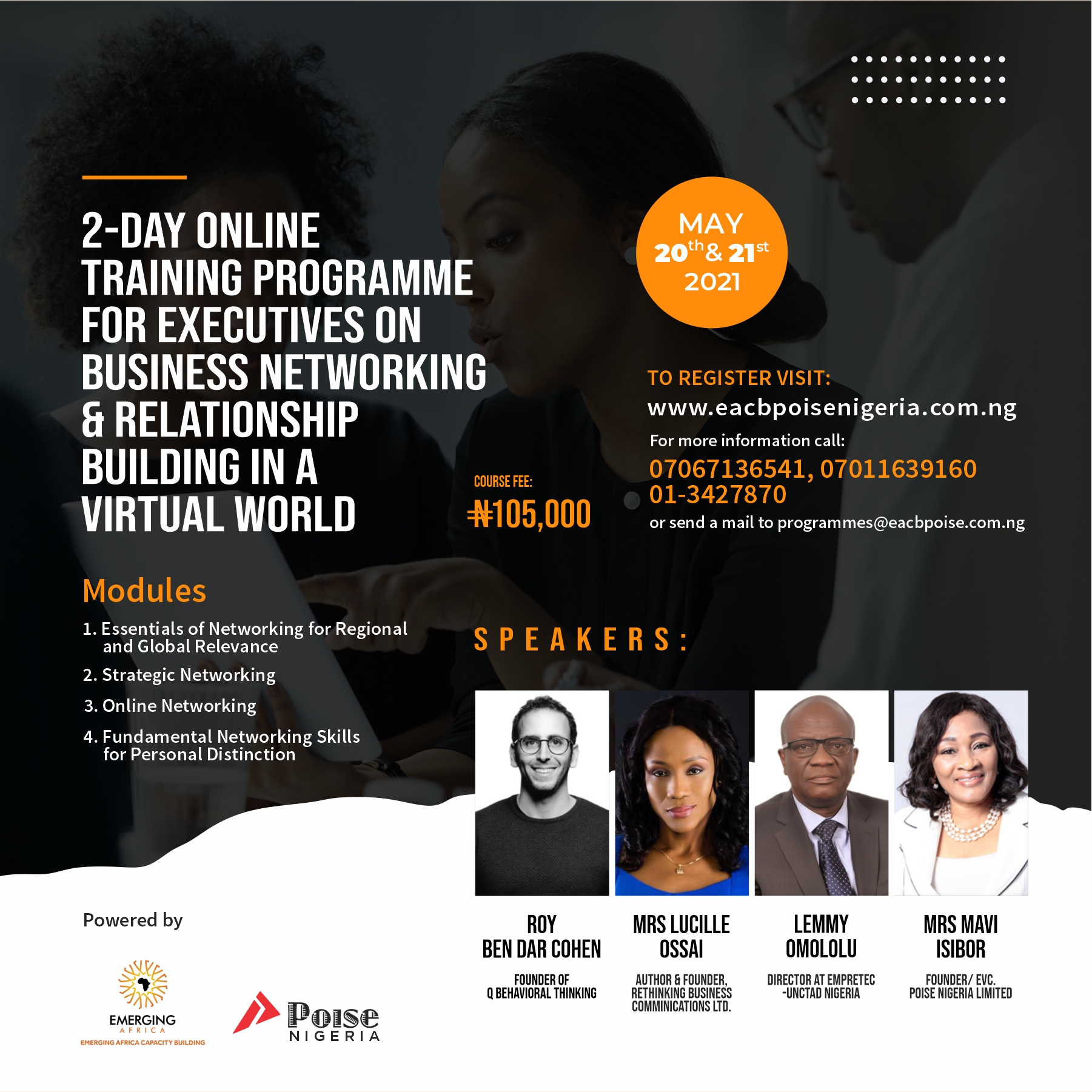 Business Networking and Relationship Building in a Virtual World Post free event in Nigeria using tickethub.ng, buy and sell tickets to event