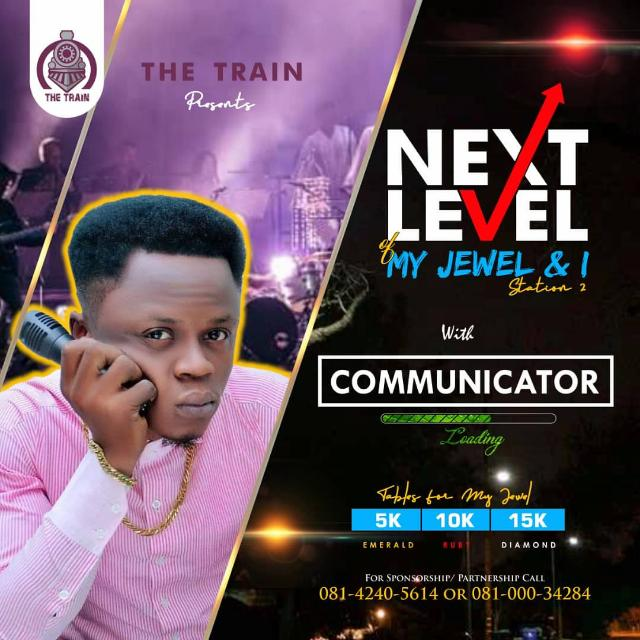 NEXT LEVEL OF MYJEWEL & I WITH COMMUNICATOR STATION2 Post free event in Nigeria using tickethub.ng, buy and sell tickets to event