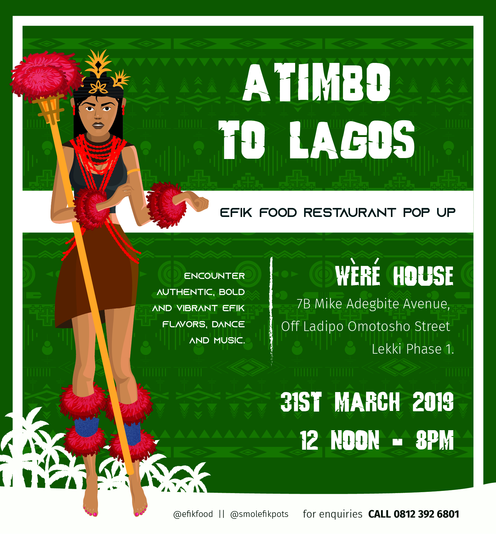 Atimbo to Lagos Post free event in Nigeria using tickethub.ng, buy and sell tickets to event