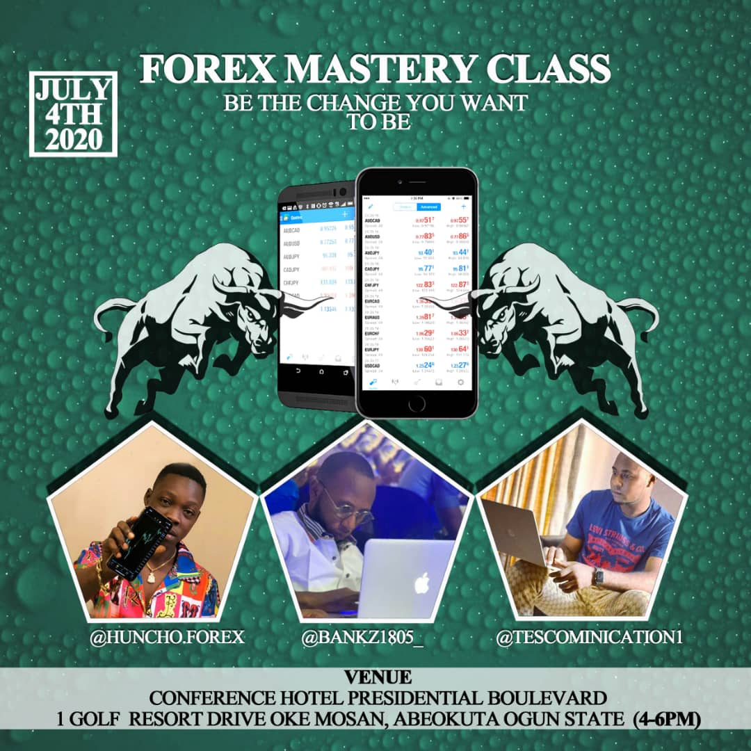 Forex Mastery Class Post free event in Nigeria using tickethub.ng, buy and sell tickets to event