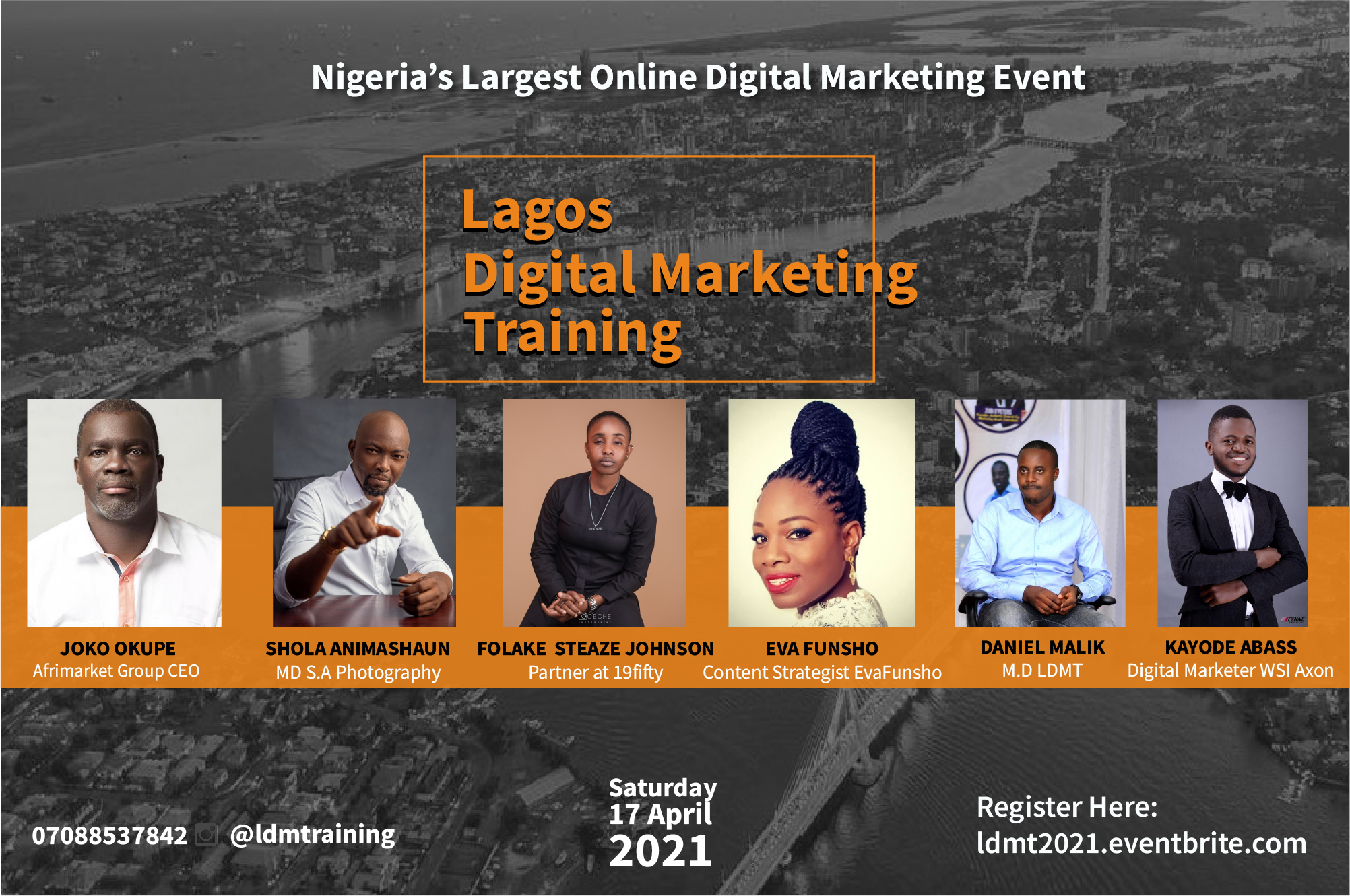 Lagos Digital Marketing Training Post free event in Nigeria using tickethub.ng, buy and sell tickets to event