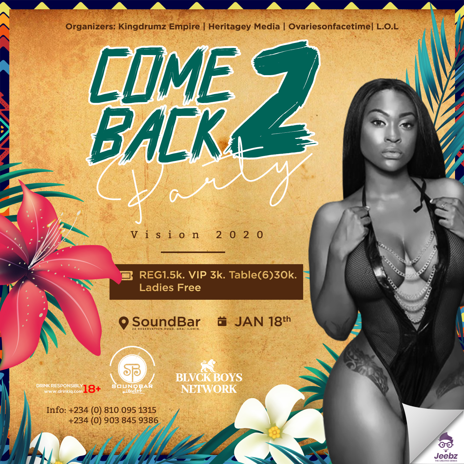 Comeback Post free event in Nigeria using tickethub.ng, buy and sell tickets to event
