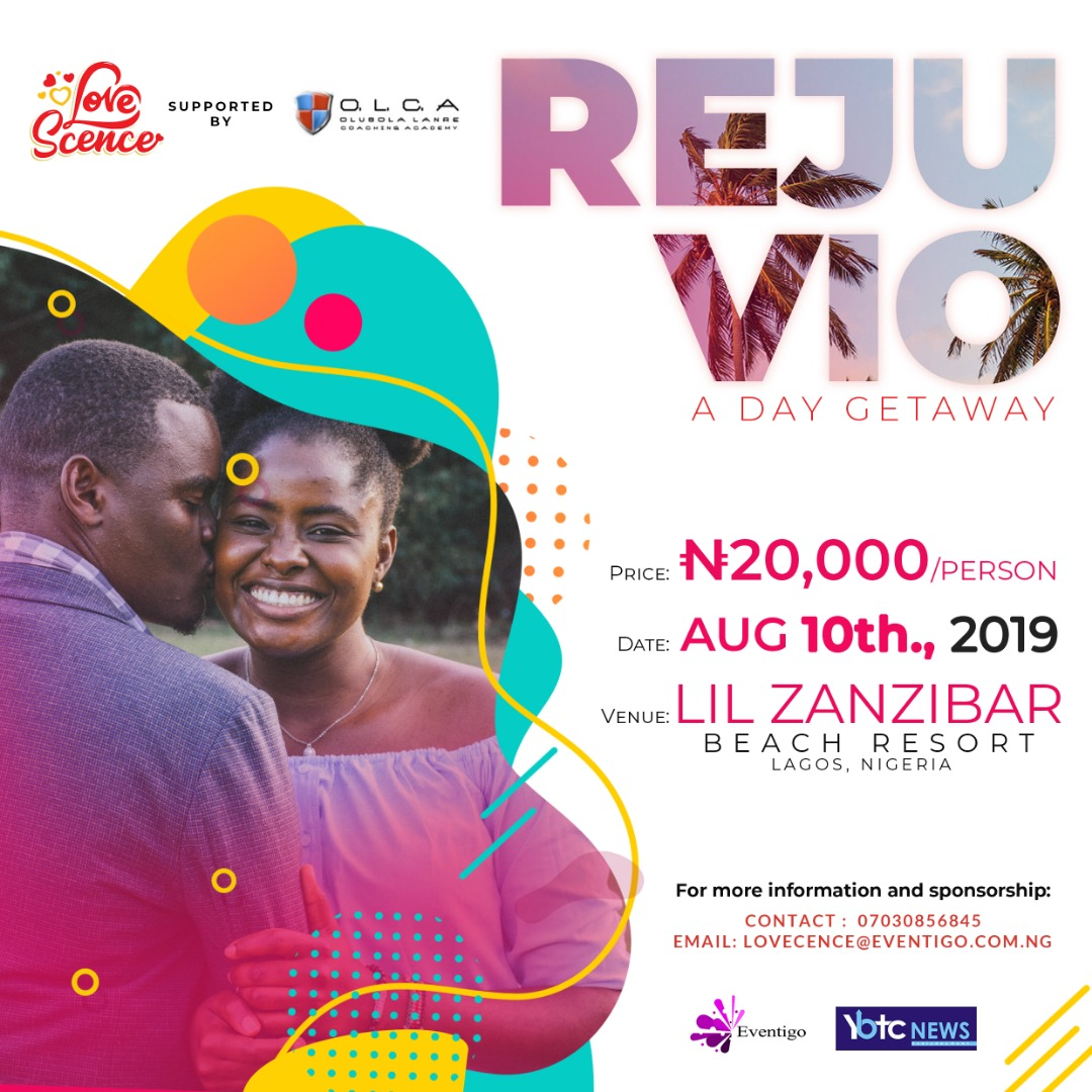 Rejuvio by Lovescence Post free event in Nigeria using tickethub.ng, buy and sell tickets to event