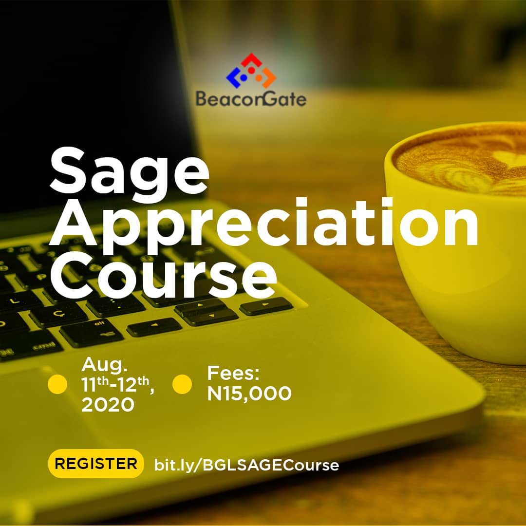 SAGE APPRECIATION COURSE Post free event in Nigeria using tickethub.ng, buy and sell tickets to event