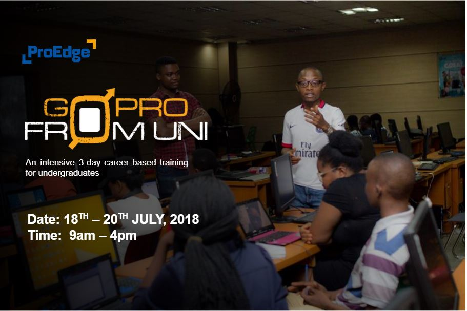 Go Pro From Uni (GPFU) Post free event in Nigeria using tickethub.ng, buy and sell tickets to event