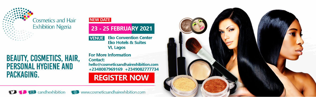 COSMETICS AND HAIR EXHIBITION NIGERIA Post free event in Nigeria using tickethub.ng, buy and sell tickets to event