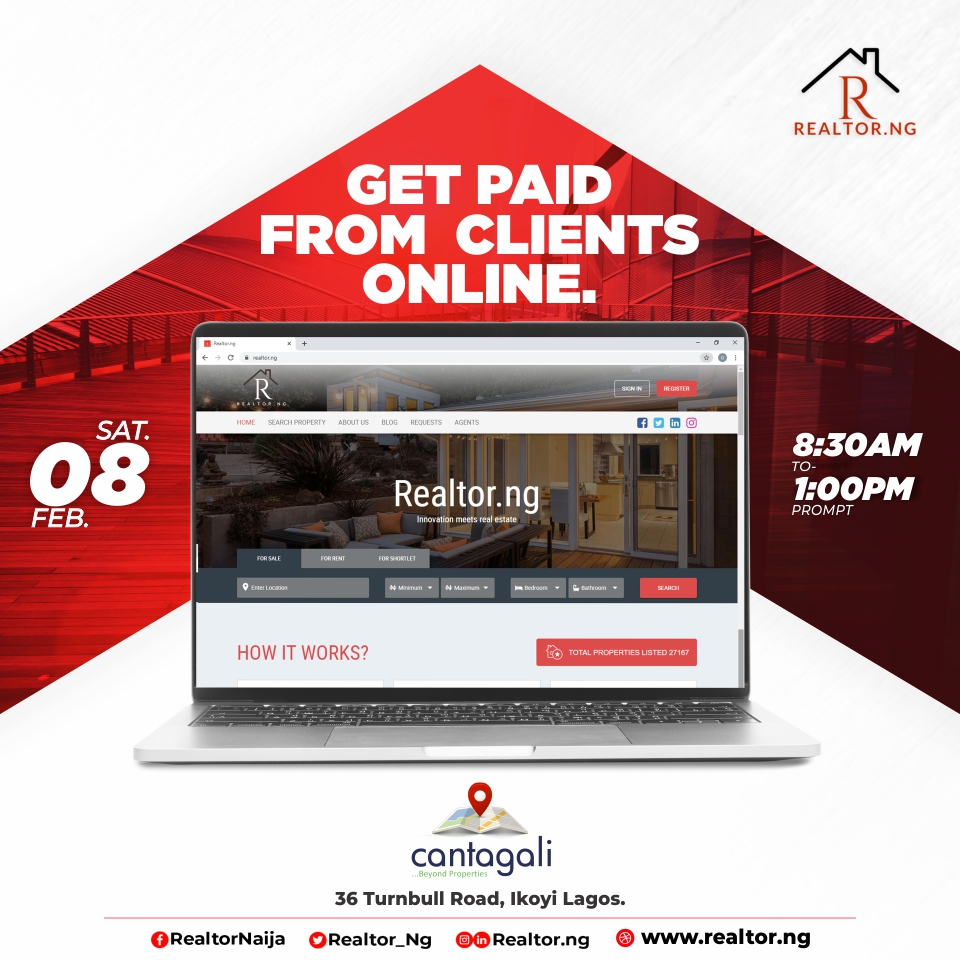 Come and learn how to increase your chances for better sales and earnings online Post free event in Nigeria using tickethub.ng, buy and sell tickets to event