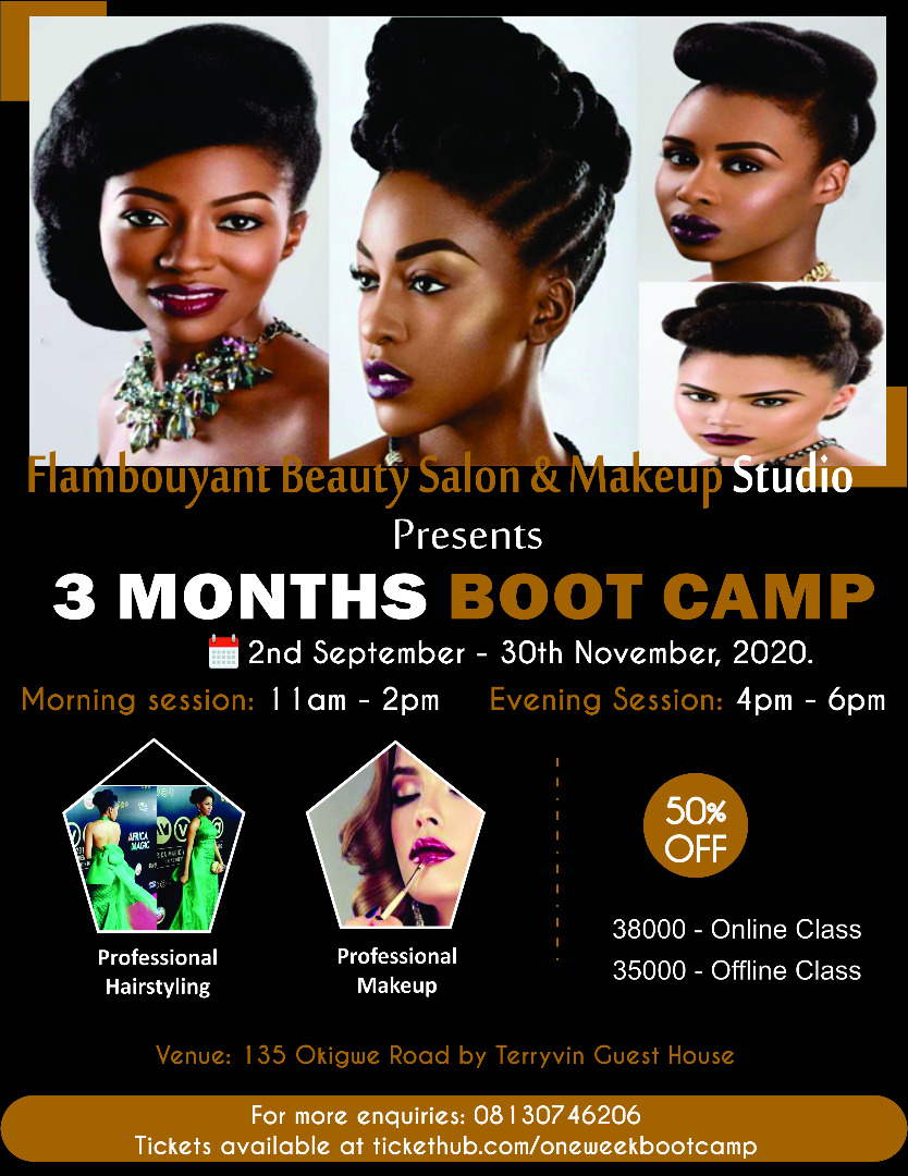 3Months  Boot camp Post free event in Nigeria using tickethub.ng, buy and sell tickets to event