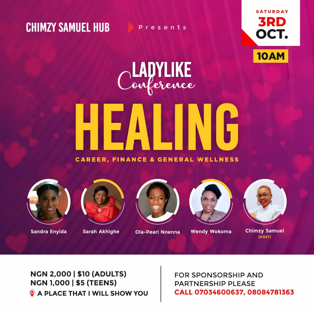 LadyLike Conference 2020 Post free event in Nigeria using tickethub.ng, buy and sell tickets to event