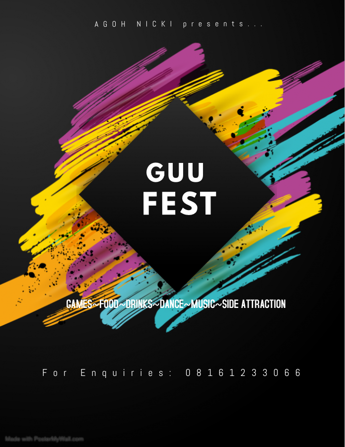 GUU FEST Post free event in Nigeria using tickethub.ng, buy and sell tickets to event