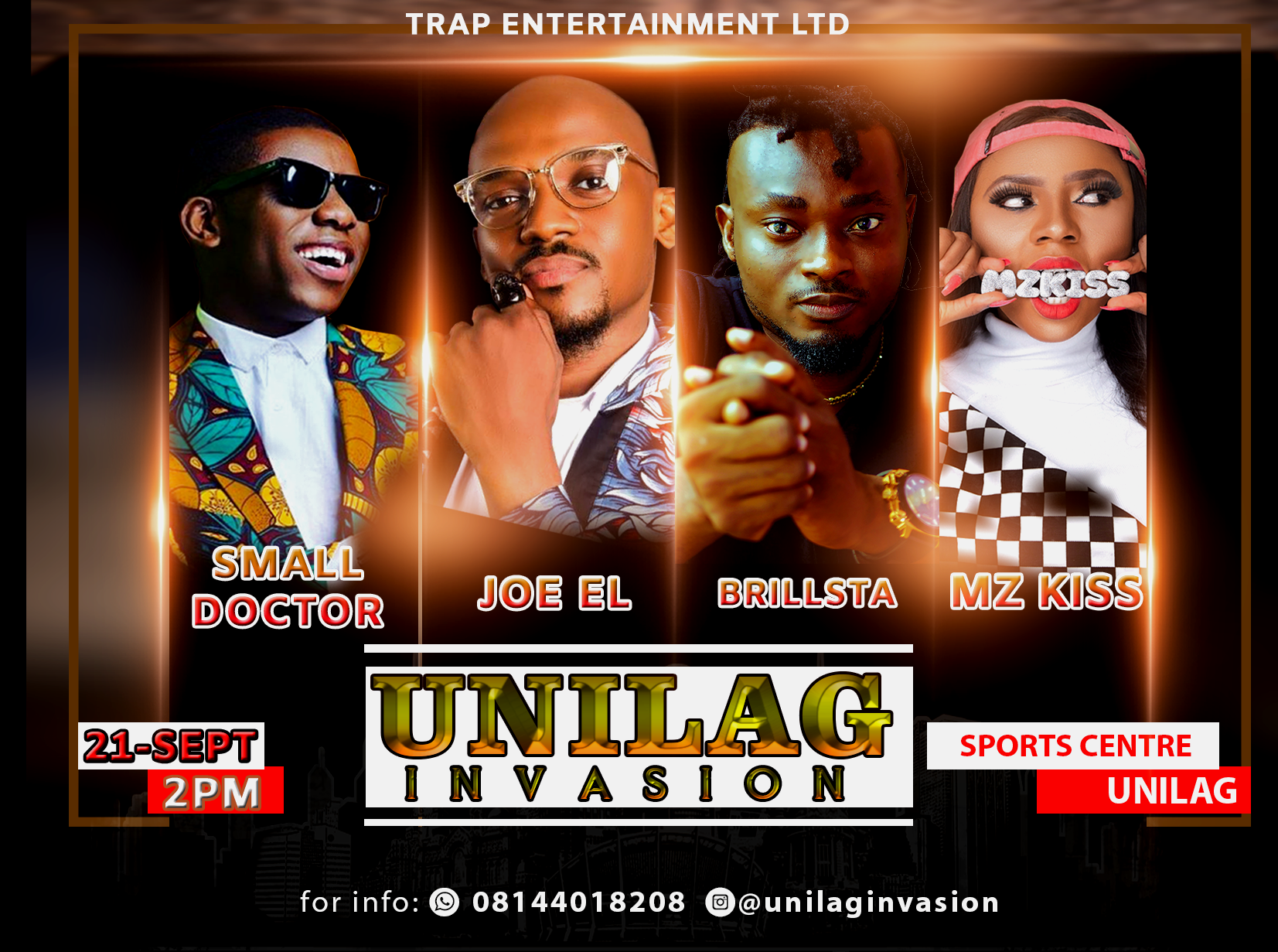 UNILAG INVASION Post free event in Nigeria using tickethub.ng, buy and sell tickets to event