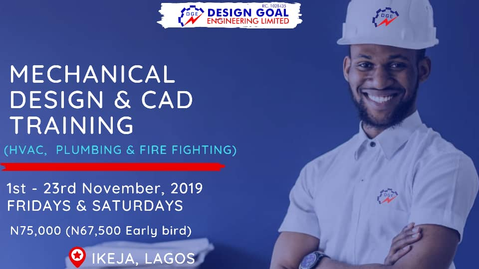 Intensive Mechanical Engineering Design & CAD training Post free event in Nigeria using tickethub.ng, buy and sell tickets to event