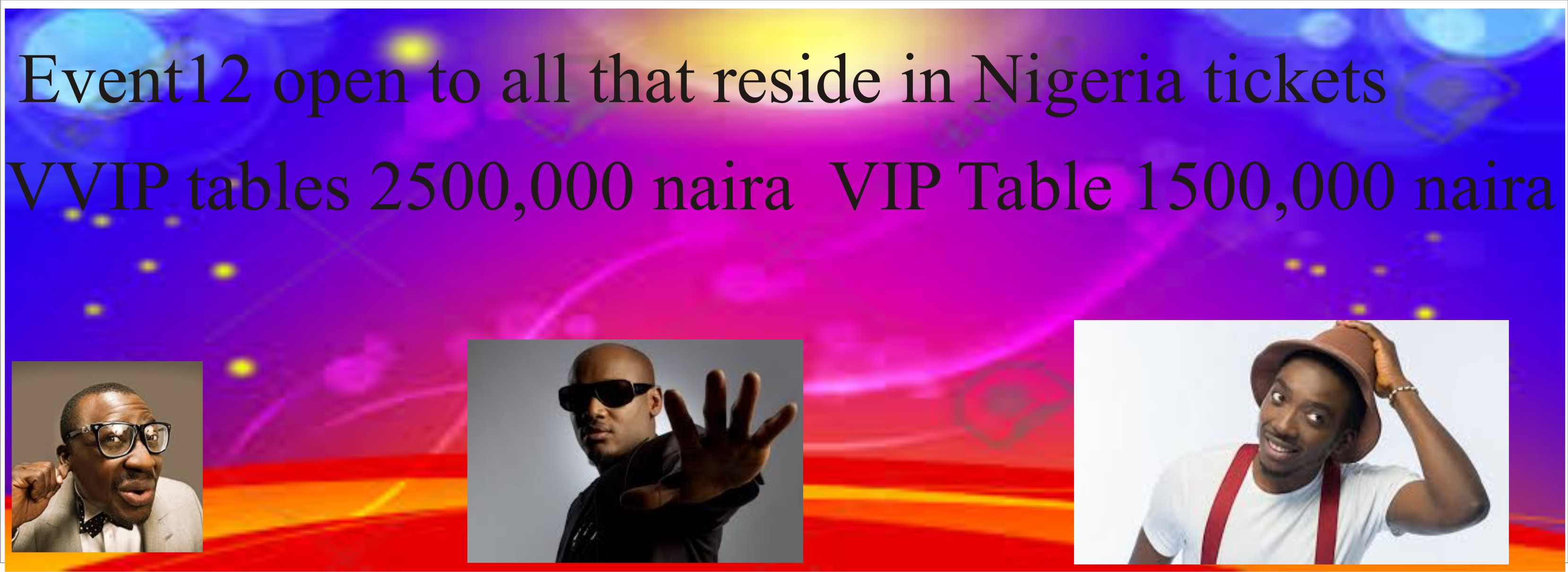 EVENT12 Post free event in Nigeria using tickethub.ng, buy and sell tickets to event