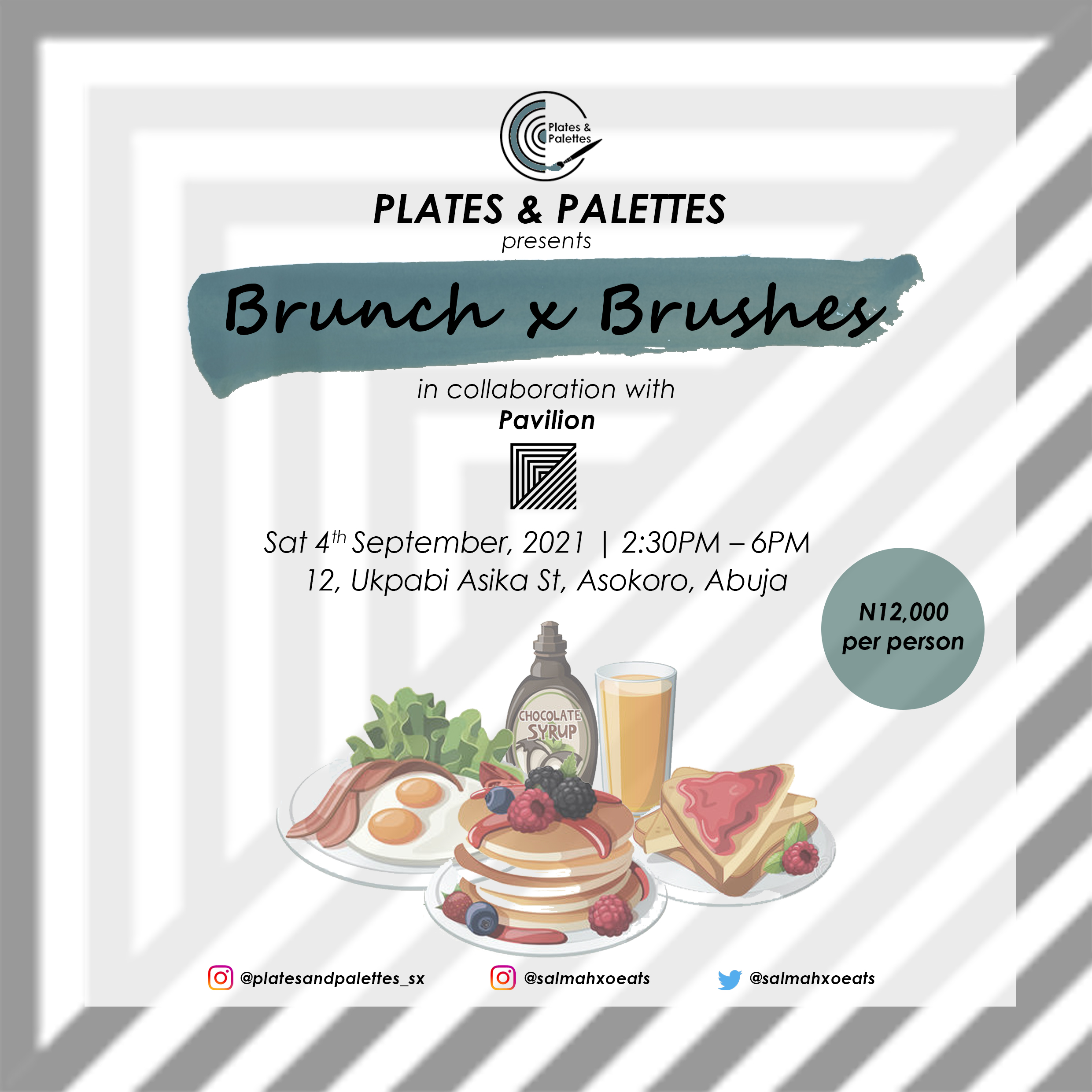 Plates & Palettes VI Post free event in Nigeria using tickethub.ng, buy and sell tickets to event