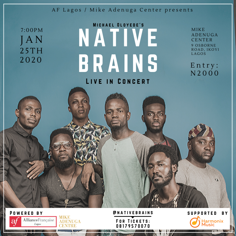 NATIVE BRAINS Live in Concert Post free event in Nigeria using tickethub.ng, buy and sell tickets to event