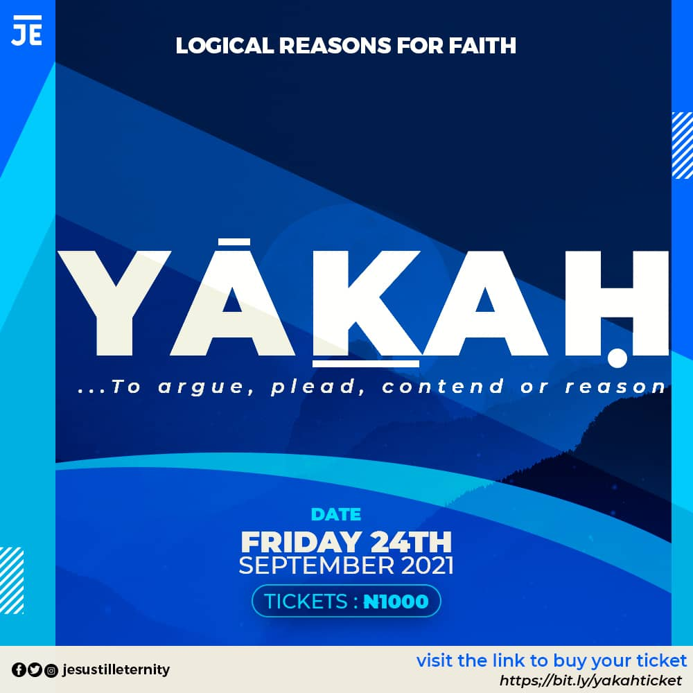 Yakah : Logical reasons for Faith Post free event in Nigeria using tickethub.ng, buy and sell tickets to event