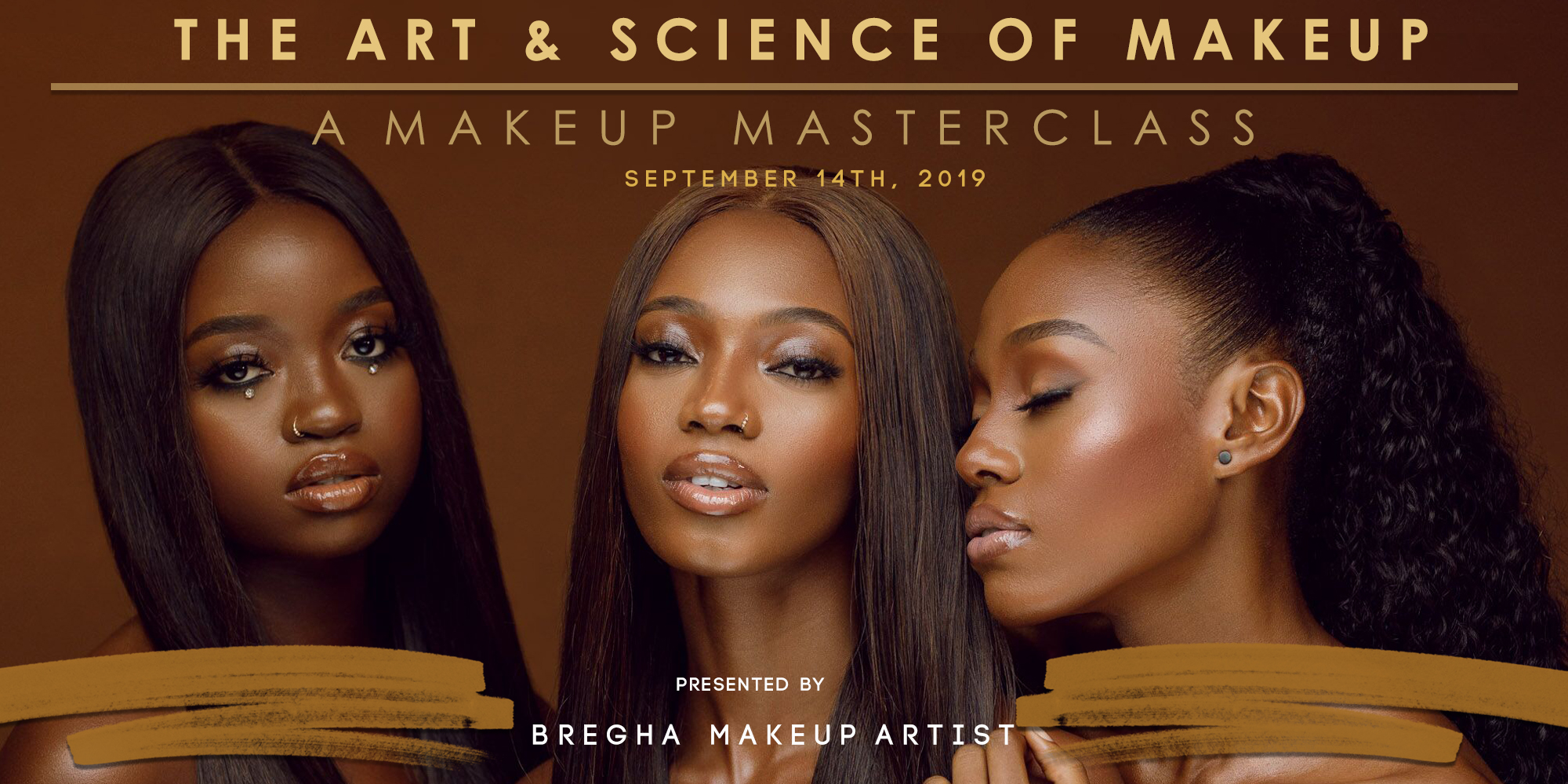 Get tickets to The Art & Science Of Makeup Masterclass by Bregha on