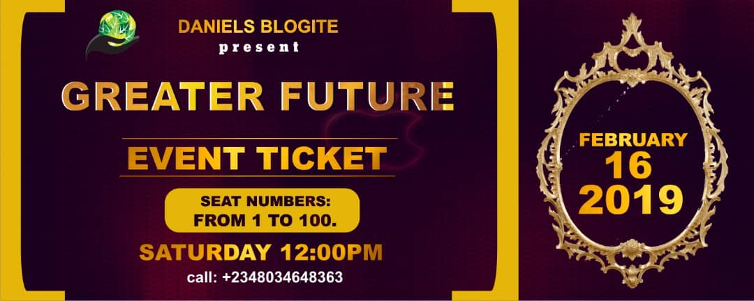 Greater Future Post free event in Nigeria using tickethub.ng, buy and sell tickets to event