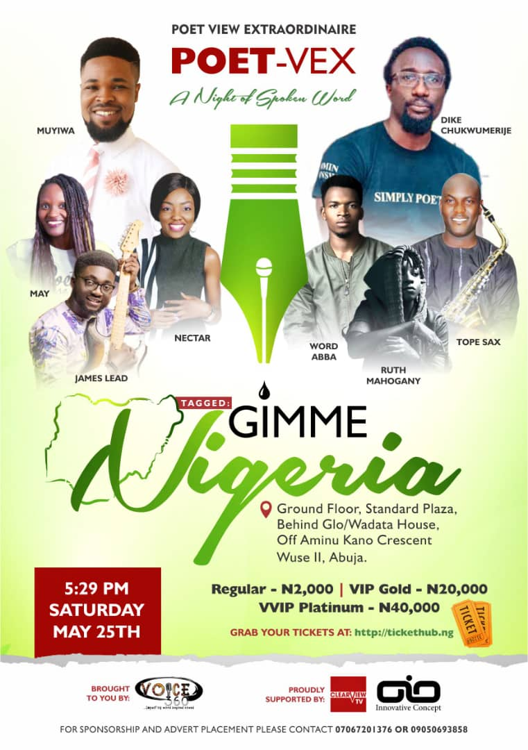 POET VIEW EXTRAORDINAIRE (POET - VEX) Post free event in Nigeria using tickethub.ng, buy and sell tickets to event
