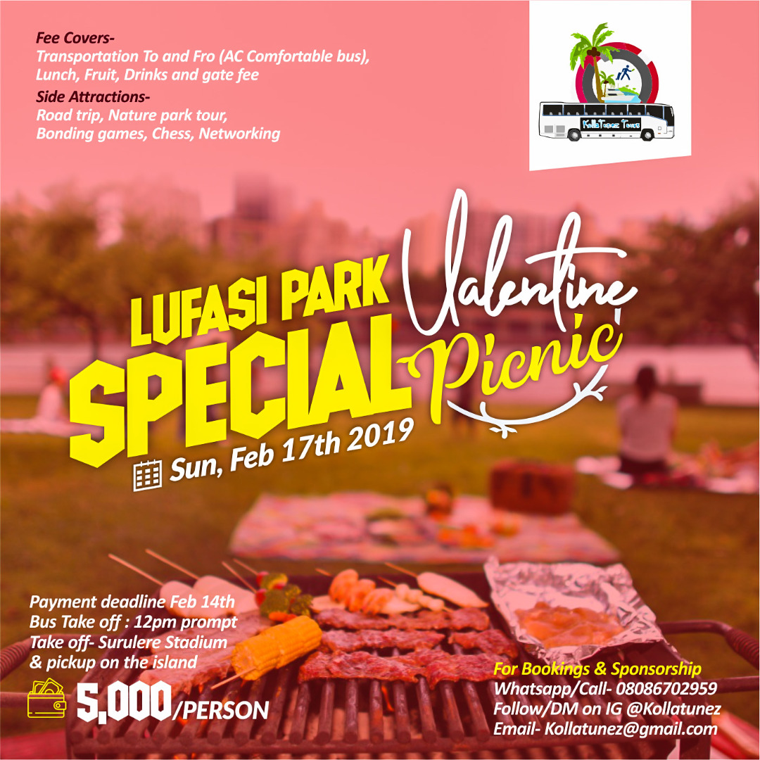 Special Valentine Picnic Post free event in Nigeria using tickethub.ng, buy and sell tickets to event