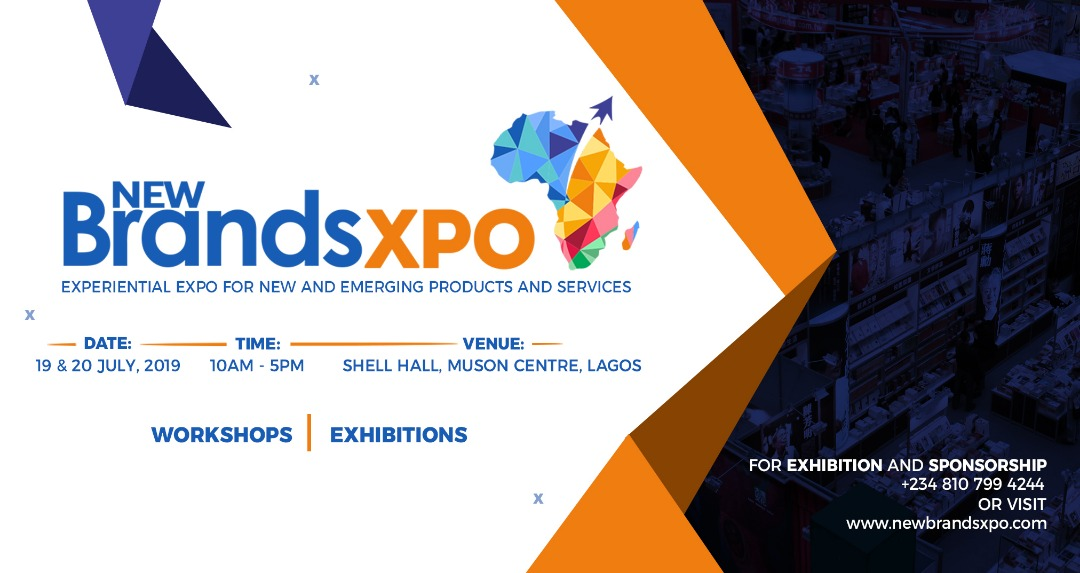NewBrandsXPO 2019 Post free event in Nigeria using tickethub.ng, buy and sell tickets to event