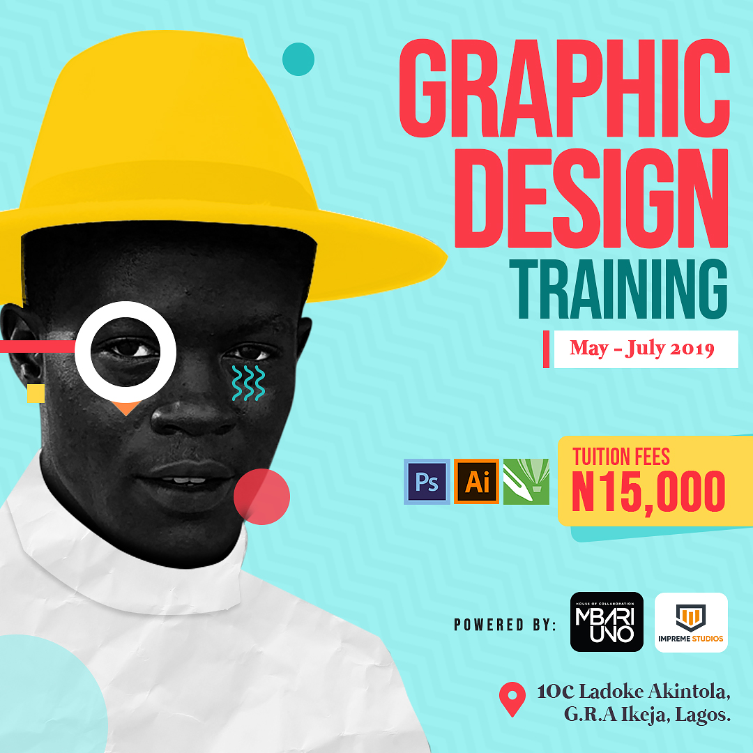 Graphic design training Post free event in Nigeria using tickethub.ng, buy and sell tickets to event