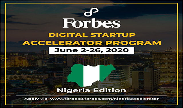 Call For Entrepreneurs: Forbes8 Nigeria Digital Startup Accelerator Post free event in Nigeria using tickethub.ng, buy and sell tickets to event