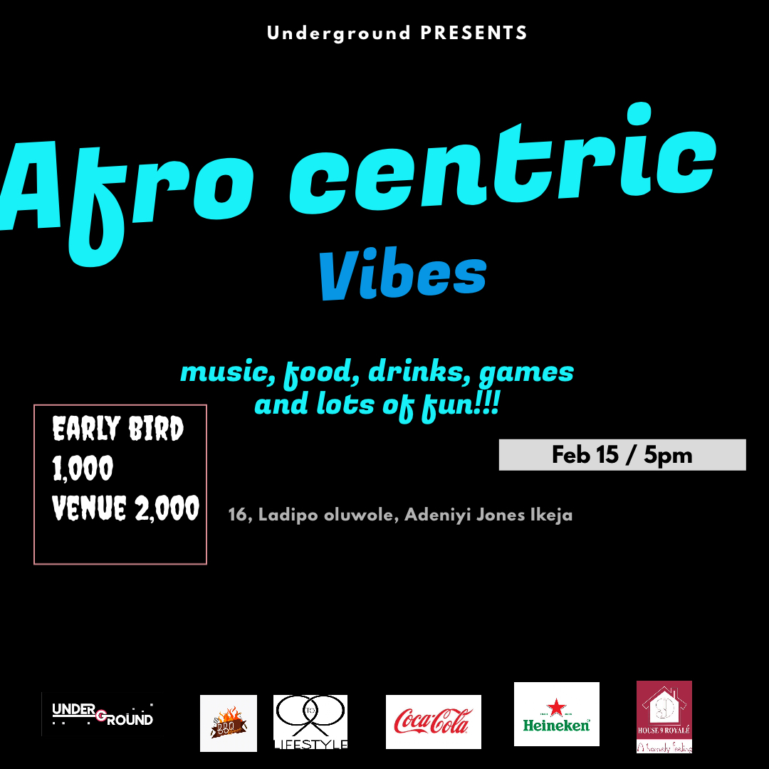 Afro centric vibes Post free event in Nigeria using tickethub.ng, buy and sell tickets to event