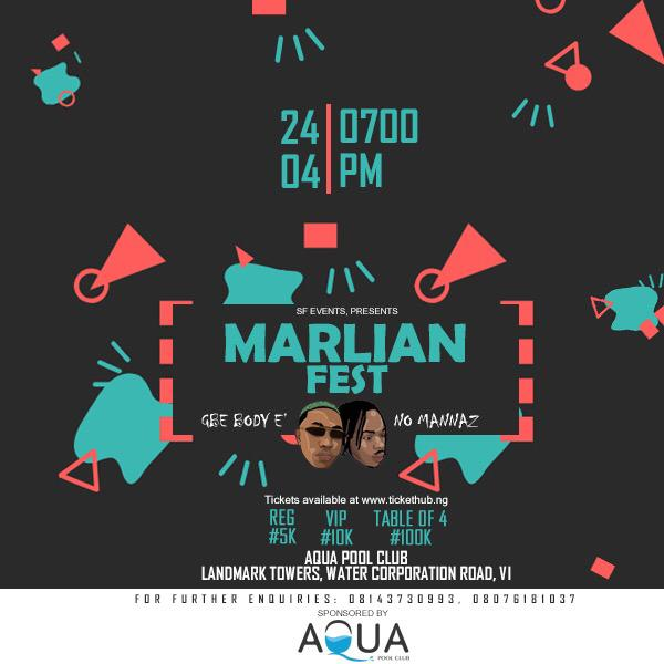 Marlian fest Post free event in Nigeria using tickethub.ng, buy and sell tickets to event