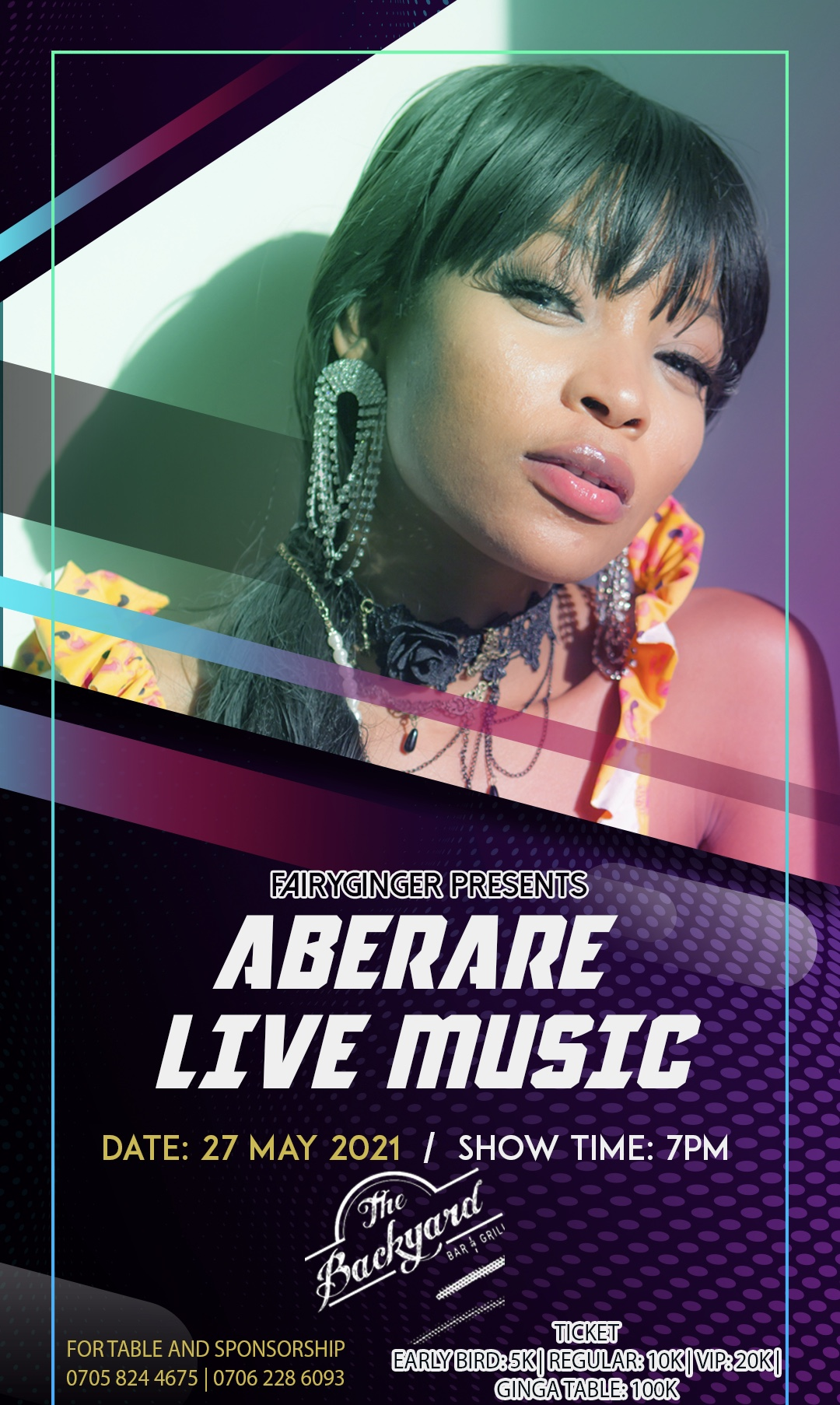 Aberare Live Post free event in Nigeria using tickethub.ng, buy and sell tickets to event