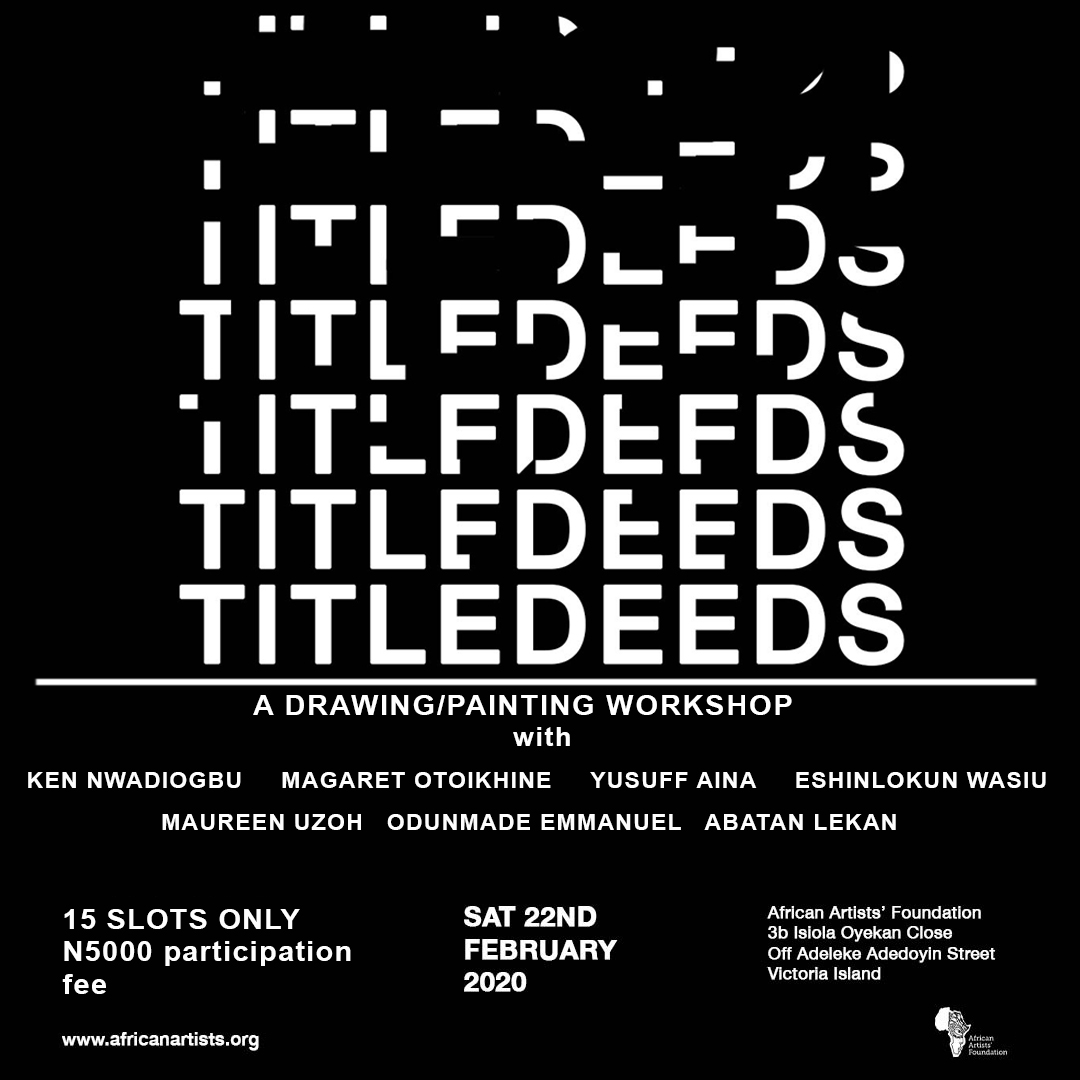 Title Deeds Workshop Post free event in Nigeria using tickethub.ng, buy and sell tickets to event