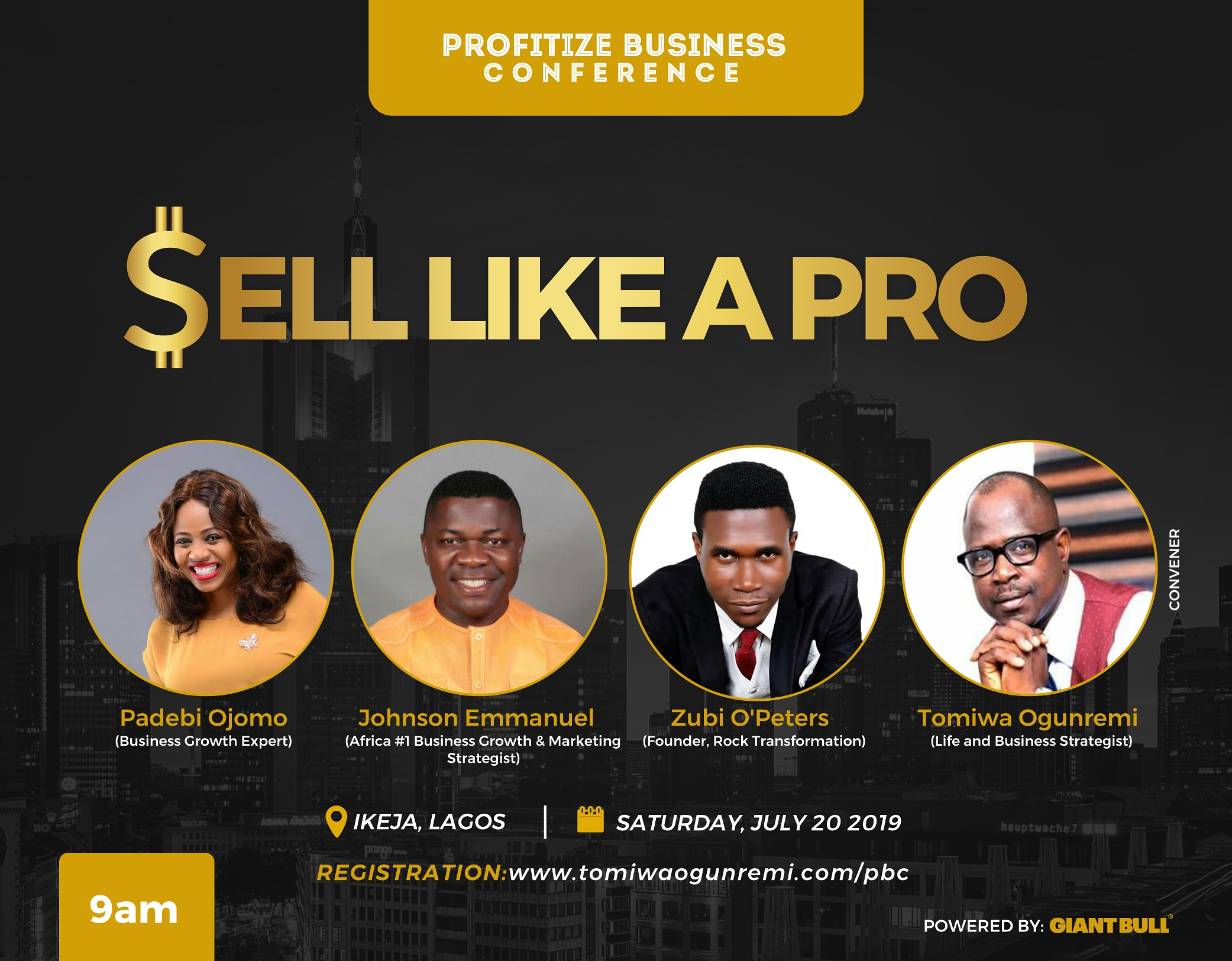 Profitize Business Conference (Sell Like a Pro Post free event in Nigeria using tickethub.ng, buy and sell tickets to event