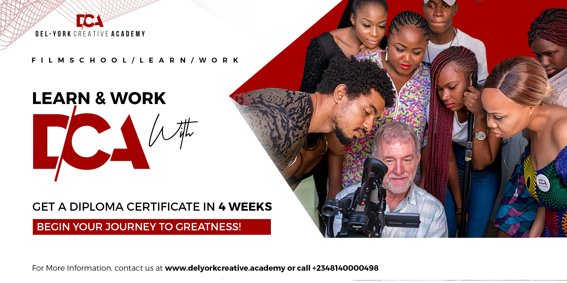 DEL-YORK CREATIVE ACADEMY Post free event in Nigeria using tickethub.ng, buy and sell tickets to event