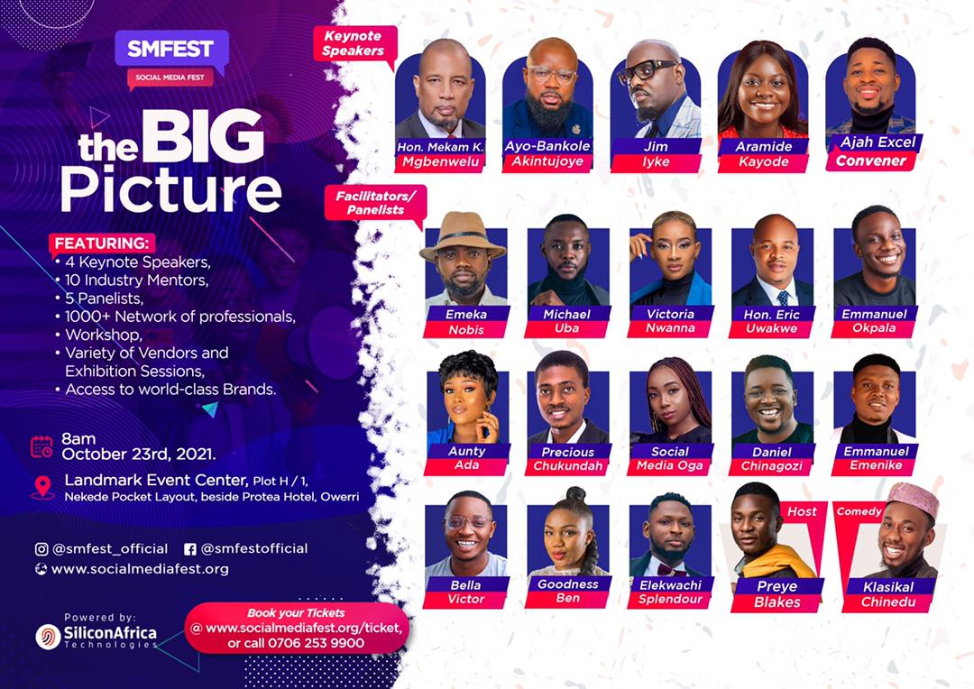 Social Media Fest Post free event in Nigeria using tickethub.ng, buy and sell tickets to event