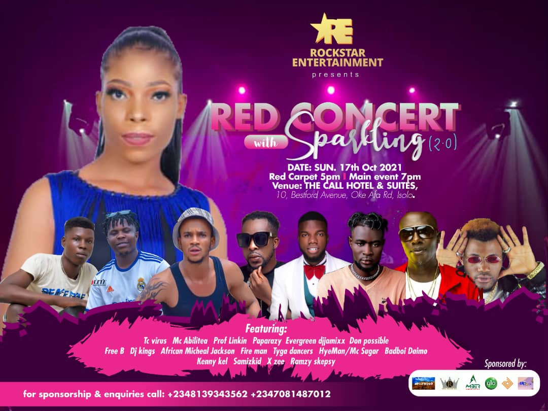 RED CONCERT Post free event in Nigeria using tickethub.ng, buy and sell tickets to event
