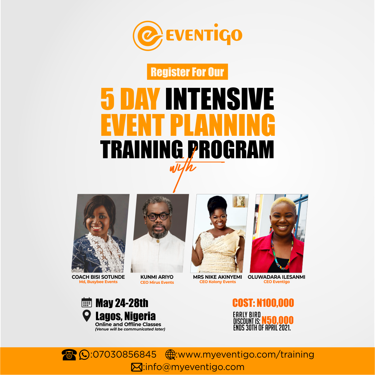 Event Planning Training Post free event in Nigeria using tickethub.ng, buy and sell tickets to event