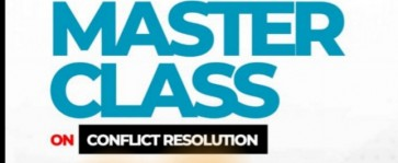 CONFLICT RESOLUTION MASTERCLASS
