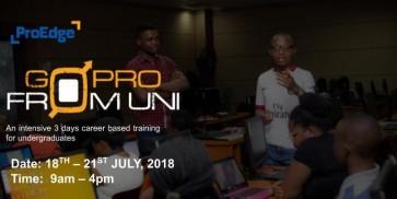 Go Pro From Uni (GPFU)