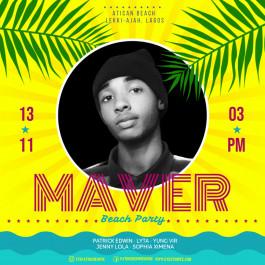 Patrick Edwin: Maver Beach Party