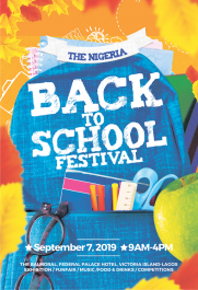 The Nigeria back-to-school Festival