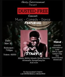 DUSTED FREE CONCERT