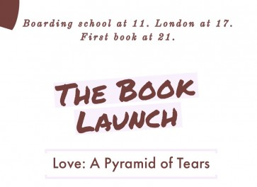 "The Book Launch of ""Love: A Pyramid of tears"""