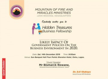 HIDDEN TREASURE BUSINESS FELLOWSHIP