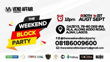 THE WEEKEND BLOCK PARTY