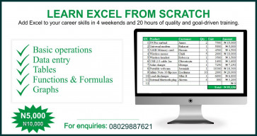 Build a STRONG Excel Foundation - Learn from SCRATCH