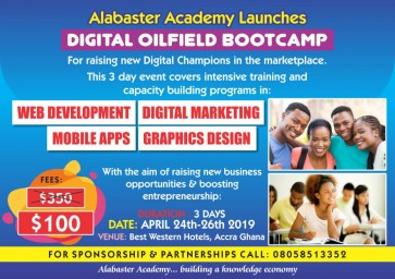 DIGITAL OILFIELD BOOTCAMP 2019